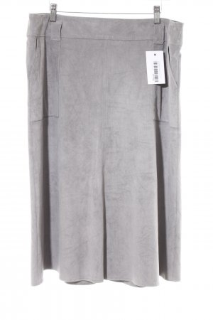 Gerry Weber Gonna in ecopelle grigio chiaro-grigio stile casual