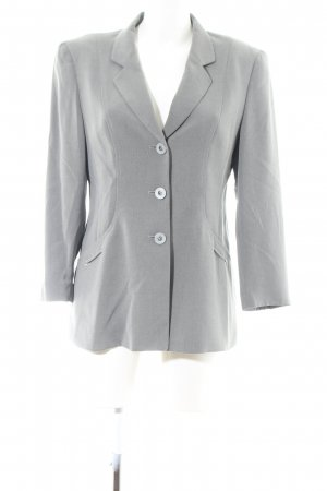 Gerry Weber Kurz-Blazer hellgrau meliert Business-Look