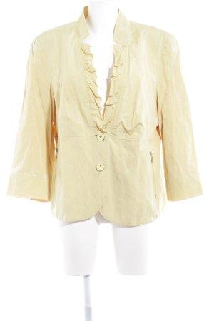 Gerry Weber Blazer corto giallo stile casual