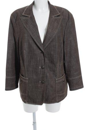 Gerry Weber Blazer corto marrone-grigio-beige chiaro stile professionale