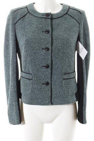 Gerry Weber Blazer corto nero-blu pallido stile casual