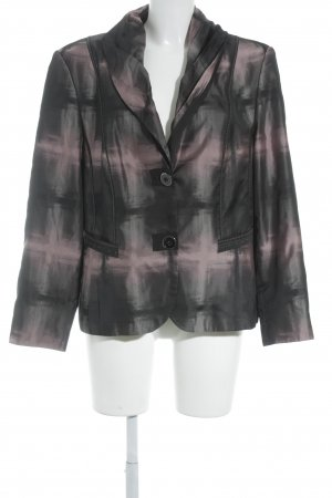 Gerry Weber Blazer corto nero-rosa effetto bagnato