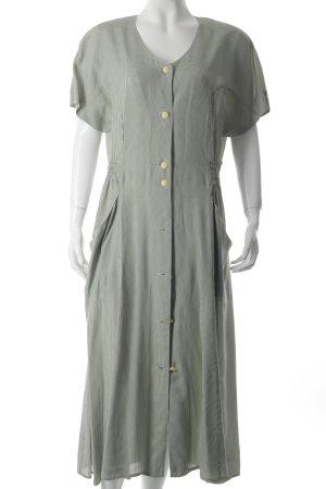 Gerry Weber Kurzarmkleid grasgrün-weiß Karomuster schlichter Stil