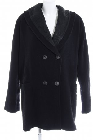 Gerry Weber Cappotto corto nero Bottoni ornamentali