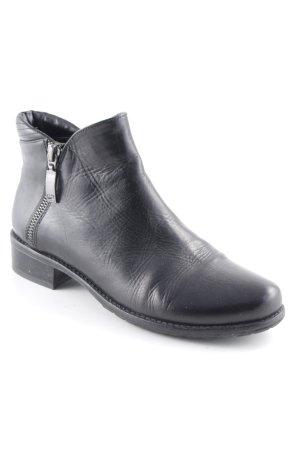 Gerry Weber Botas bajas negro estilo sencillo
