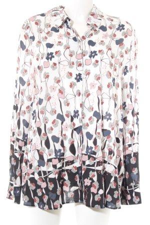 Gerry Weber Langarm-Bluse Blumenmuster Casual-Look