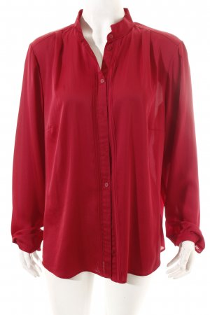 Gerry Weber Langarm-Bluse dunkelrot Casual-Look