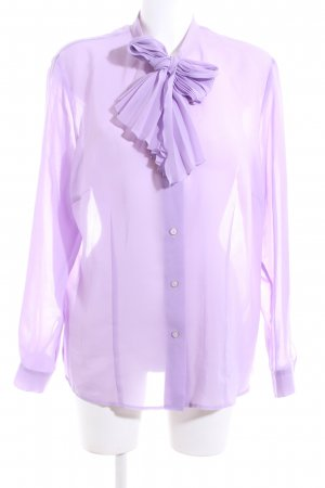 Gerry Weber Langarm-Bluse lila Business-Look