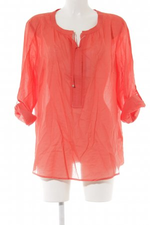 Gerry Weber Langarm-Bluse rot Casual-Look