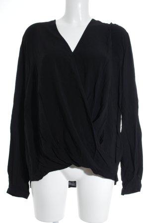 Gerry Weber Camicetta a maniche lunghe nero stile casual