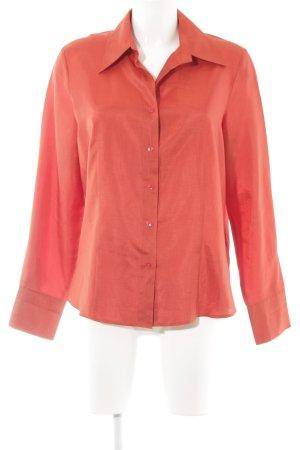 Gerry Weber Shirt met lange mouwen roodbruin casual uitstraling