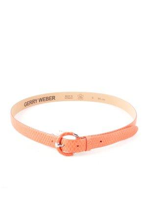 Gerry Weber Cinturón de cuero naranja oscuro look Street-Style