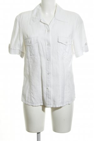 Gerry Weber Linen Blouse white casual look