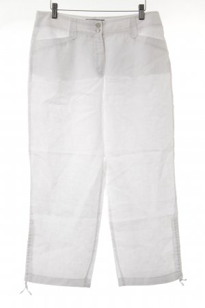 Gerry Weber Linnen broek wit Beach-look