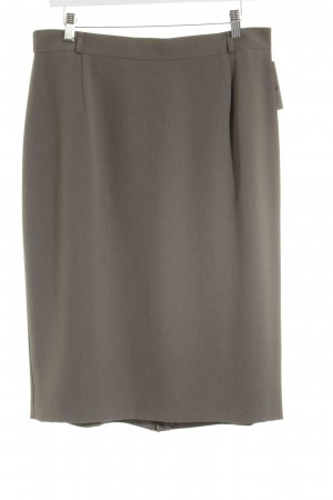 Gerry Weber Leinenrock taupe Business-Look