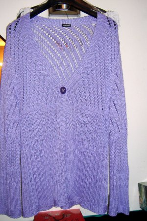 Gerry Weber Giacca in maglia viola