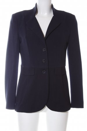 Gerry Weber Long-Blazer blau Business-Look