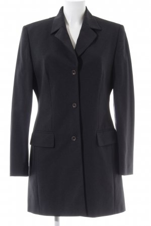 Gerry Weber Long-Blazer schwarz Business-Look