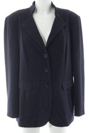Gerry Weber Long-Blazer dunkelblau Casual-Look