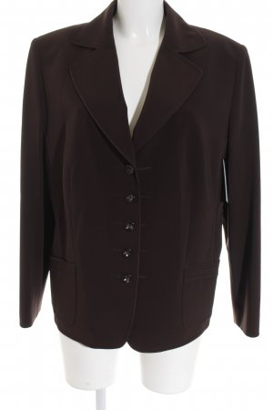 Gerry Weber Long-Blazer dunkelbraun Business-Look