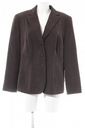 Gerry Weber Long Blazer dark brown dandy style