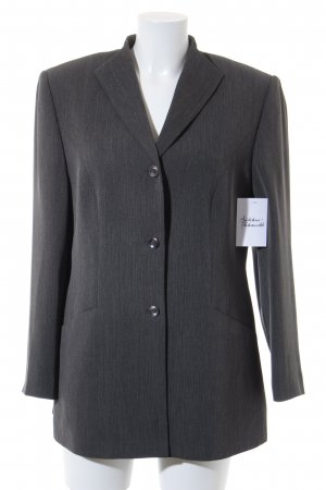 Gerry Weber Long-Blazer grau Business-Look