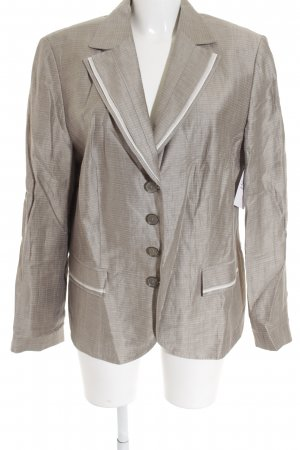 Gerry Weber Long-Blazer graubraun Business-Look