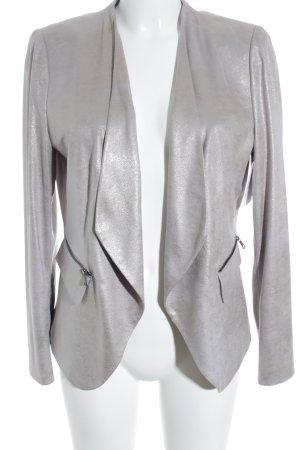 Gerry Weber Blazer long beige clair-argenté pailleté