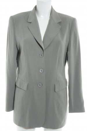 Gerry Weber Long-Blazer hellgrau Business-Look