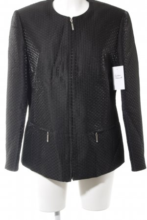 Gerry Weber Long-Blazer schwarz Karomuster Business-Look