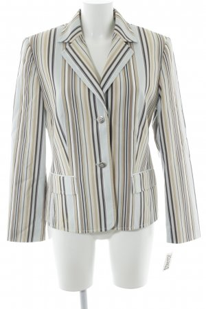 Gerry Weber Long-Blazer Streifenmuster Business-Look