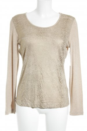Gerry Weber Longsleeve goldfarben Casual-Look