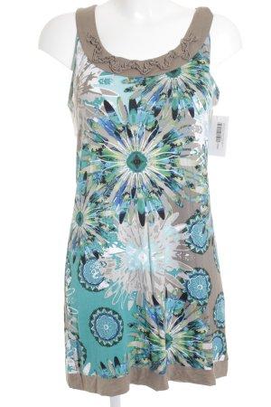 Gerry Weber Longtop beige-babyblau Blumenmuster extravaganter Stil