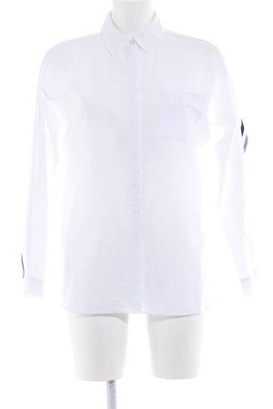 Gerry Weber Blusa taglie forti bianco stile casual