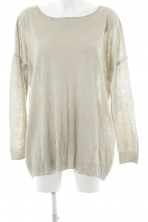 Gerry Weber Oversized Shirt oatmeal-natural white flecked casual look