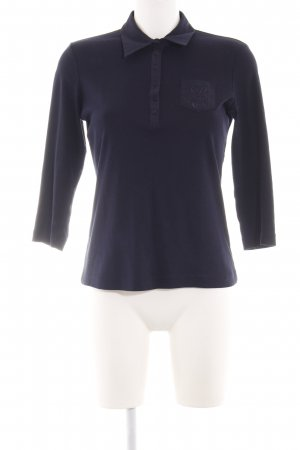Gerry Weber Polo-Shirt blau Casual-Look
