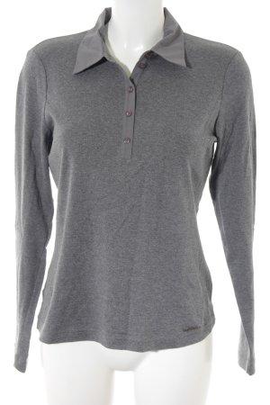 Gerry Weber Polo-Shirt grau klassischer Stil