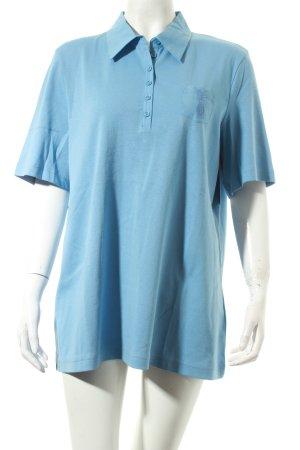Gerry Weber Polo-Shirt kornblumenblau klassischer Stil