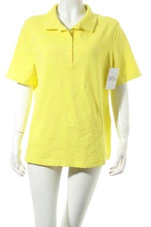 Gerry Weber Polo-Shirt limettengelb klassischer Stil