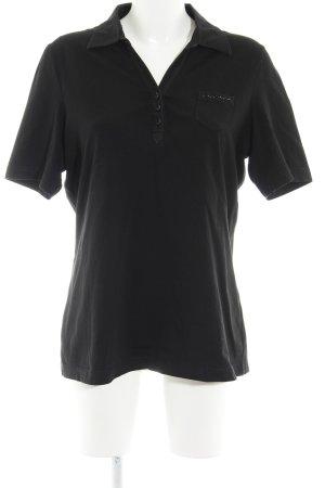 Gerry Weber Polo-Shirt schwarz Casual-Look