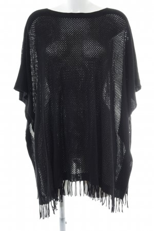 Gerry Weber Poncho nero stile country