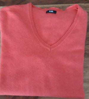 Gerry Weber Jersey con cuello de pico rojo-rosa