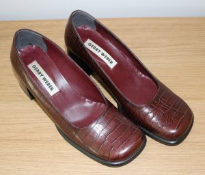 Gerry Weber Pumps in Braun - Gr. 39
