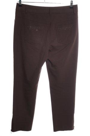 Gerry Weber Pantalone da equitazione marrone stile casual