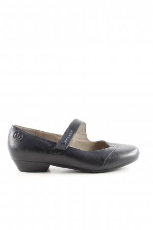 Gerry Weber Strappy Ballerinas black-blue casual look