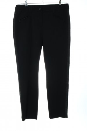 Gerry Weber Röhrenhose schwarz Business-Look