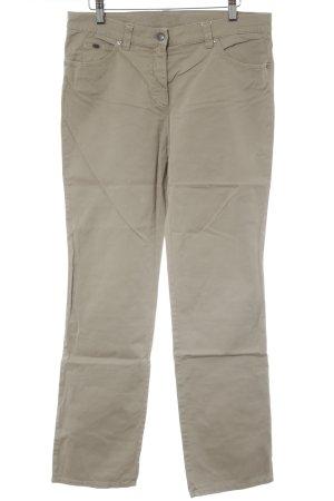 Gerry Weber Pantalone a sigaretta beige stile semplice