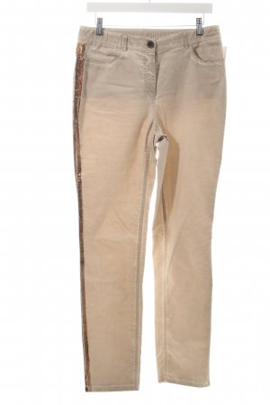Gerry Weber Röhrenhose beige Washed-Optik