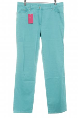 Gerry Weber Drainpipe Trousers turquoise casual look