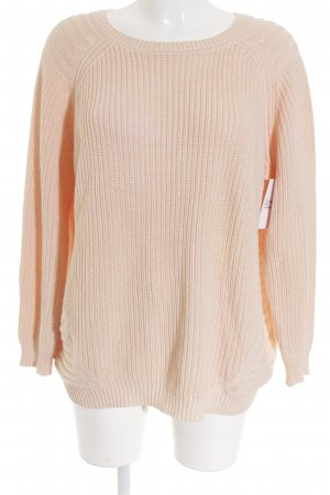 Gerry Weber Rundhalspullover apricot Casual-Look